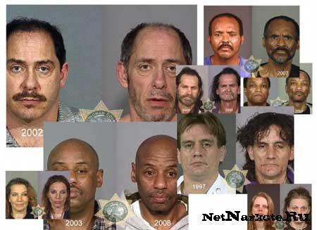 Подборка фото людей ДО и ПОСЛЕ употребления наркотиков